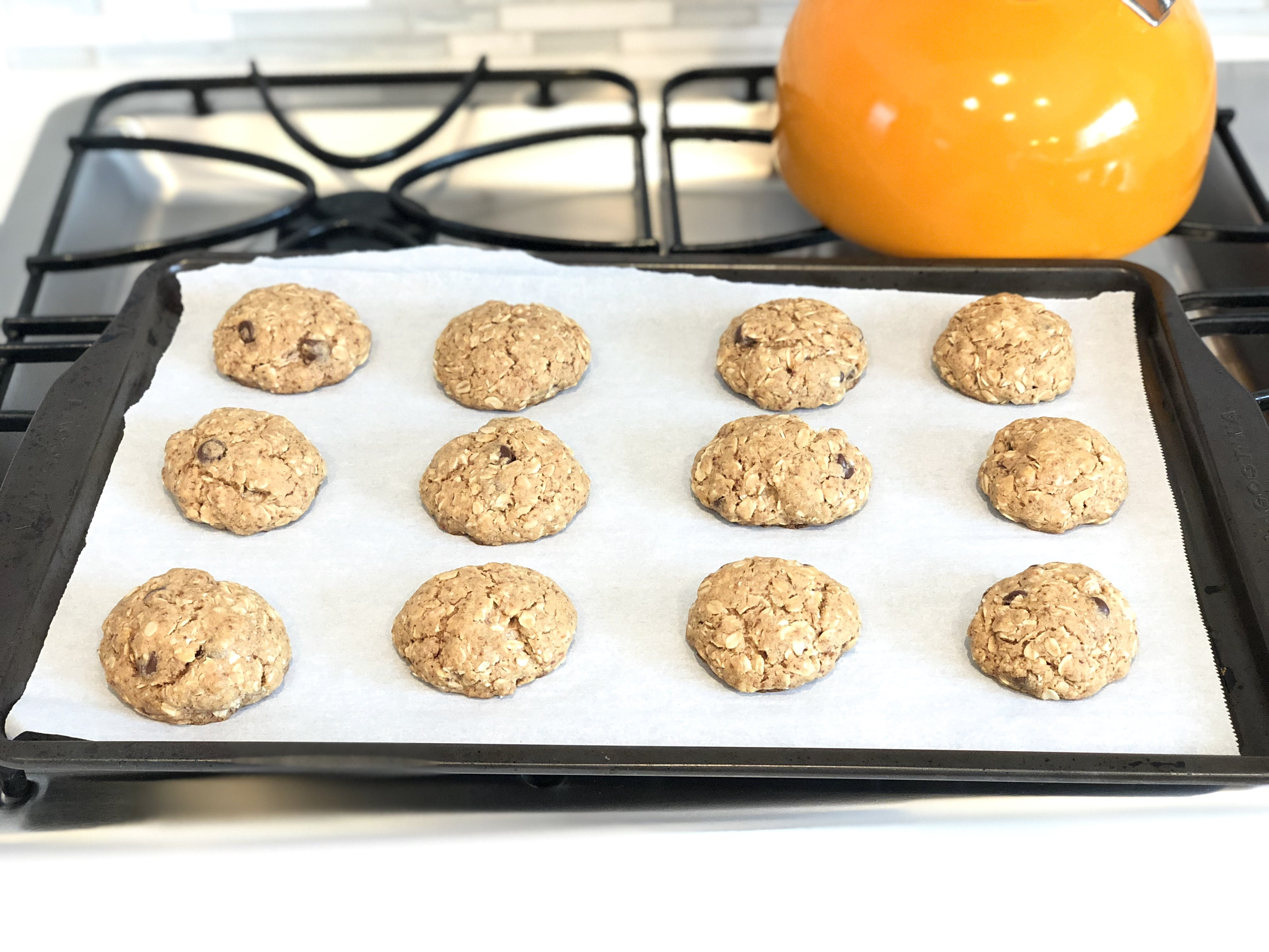 The Best Dairy-Free Oatmeal Chocolate Chip Cookies