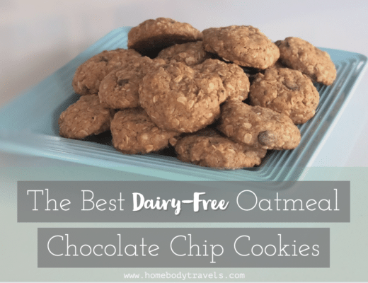 Dairy-Free Oatmeal Chocolate Chip Cookies