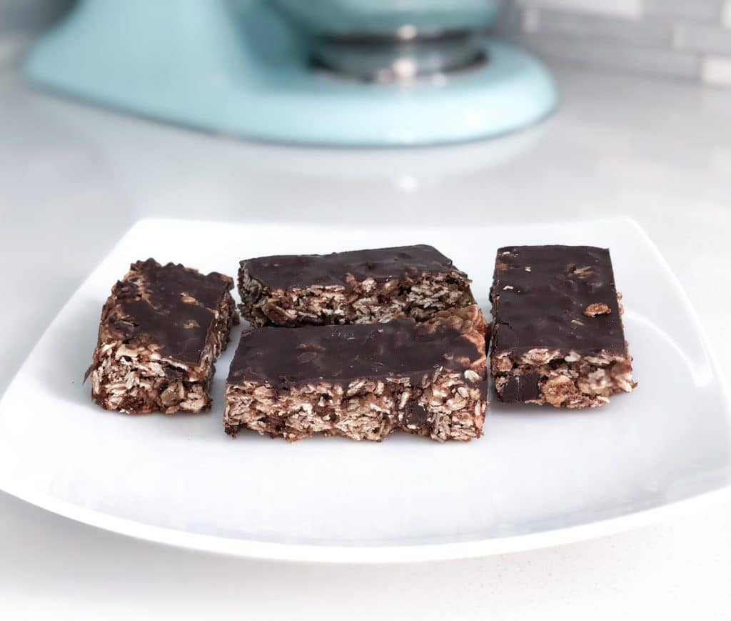 Dairy-Free Chocolate Granola Bars
