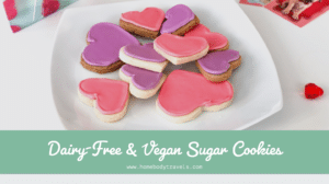 Dairy-Free & Vegan Sugar Cookies